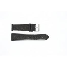 Bracelet de montre Universel 307.01 XL Cuir Noir 22mm