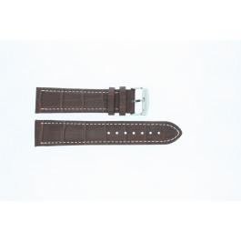 Bracelet de montre Universel 308R.02 Cuir Brun 22mm