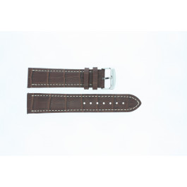Bracelet de montre Condor 308.02 Cuir Brun 24mm