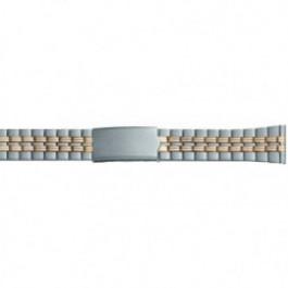 Bracelet de montre Universel DD100 Acier Bicolore 20mm
