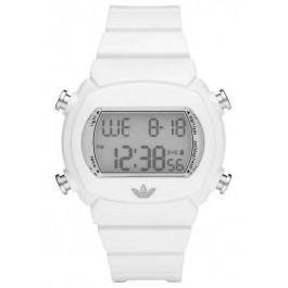 Bracelet de montre Adidas ADH6123 Caoutchouc Blanc 22mm