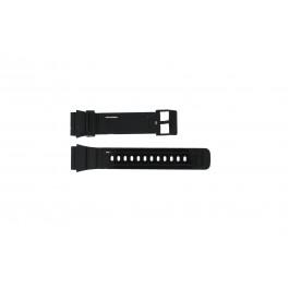 Bracelet de montre Adidas ADH6092 Plastique Noir 22mm