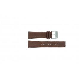 Fossil bracelet de montre AM-3891 Cuir Brun 25mm