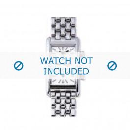 Armani bracelet de montre AR-0111 Métal Argent 14mm
