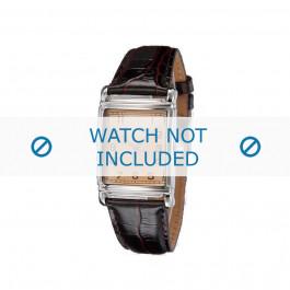 Bracelet de montre Armani AR0203 Cuir Brun 22mm
