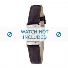 Bracelet de montre Armani AR0205 Cuir Brun 14mm