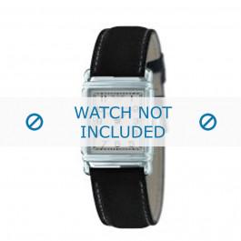 Armani bracelet de montre AR-0224 Cuir Noir 18mm