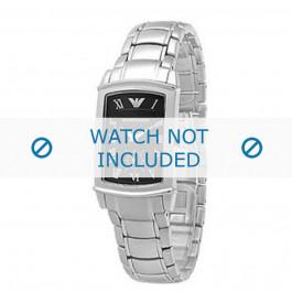 Armani bracelet de montre AR-0246 Métal Argent 16mm