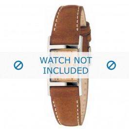 Armani bracelet de montre AR-0252 Cuir Brun clair 16mm