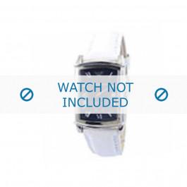 Armani bracelet de montre AR-0261 Cuir Blanc 20mm