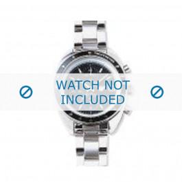 Armani bracelet de montre AR-0502 Métal Argent 9mm