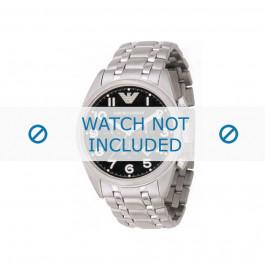 Armani bracelet de montre AR-0508 Métal Argent 23mm