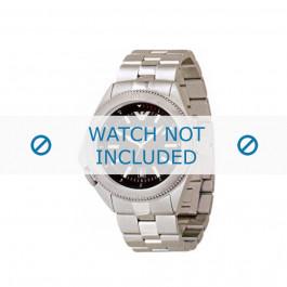 Armani bracelet de montre AR-0560 Métal Argent 23mm