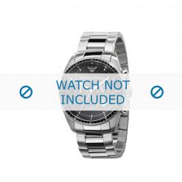 Armani bracelet de montre AR-0585 Métal Argent 23mm