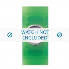 Armani bracelet de montre AR-1006 En caoutchouc Vert 24mm