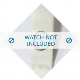 Armani bracelet de montre AR-1008 En caoutchouc Blanc 25mm