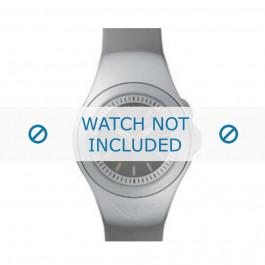 Armani bracelet de montre AR-1115 En caoutchouc Argent 14mm