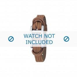 Bracelet de montre Armani AR5520 Cuir Brun 12mm