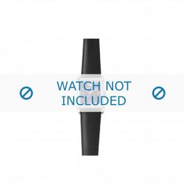 Armani bracelet de montre AR-5600 Cuir Noir 23mm