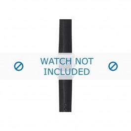 Armani bracelet de montre AR-5603 Cuir Noir 18mm