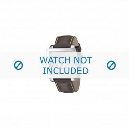 Armani bracelet de montre AR-5812 Cuir Gris 24mm