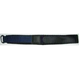 Bracelet de montre Condor KLITTENBAND 412R Navy Velcro Bleu 20mm
