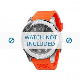 Armani bracelet de montre AX-1073 En caoutchouc Orange