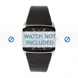 Bracelet de montre Armani AX2080 Cuir Noir 35mm