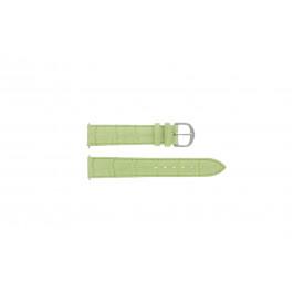 Bracelet de montre Davis B0207 Cuir Vert 14mm