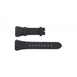 Breil bracelet de montre BW0384 Cuir Noir 25mm