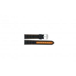 Bracelet de montre Camel BC51043 Active Cuir Noir 18mm