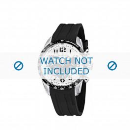Bracelet de montre Candino C4472 Caoutchouc Noir 22mm