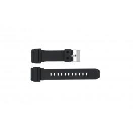 Bracelet de montre GD-400-1W / 10475776 Silicone Noir 26mm