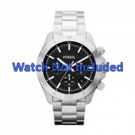 Bracelet de montre Fossil CH2848 / CH2849 Acier Acier 22mm