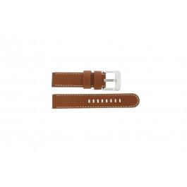 Bracelet de montre Danish Design IQ12Q711 / IQ12Q888 Cuir Brun 20mm