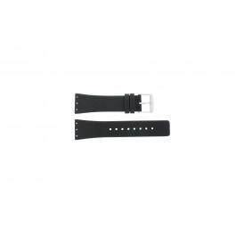 Bracelet de montre Danish Design IV13Q641 / IV12Q641 / IV12Q767 / IV13Q767 Cuir Noir 23mm