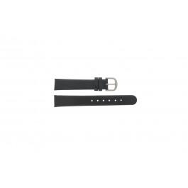 Bracelet de montre Danish Design ADDBL16 / IV14Q553 Cuir Noir 16mm