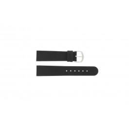 Bracelet de montre Danish Design IQ13Q732 Cuir Noir 20mm