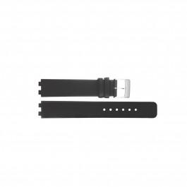 Bracelet de montre Danish Design IV12Q523 / IV13Q523 Cuir Noir 12mm
