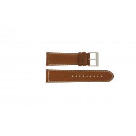 Davis bracelet de montre BB0451.24L Cuir Brun clair 24mm