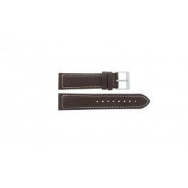 Bracelet de montre Davis BB1021 / BB1023 Cuir Brun 22mm
