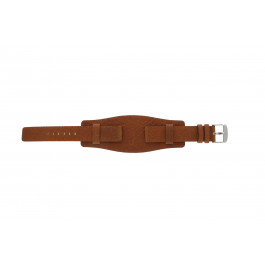 Davis bracelet de montre B0222 Cuir Cognac 20mm