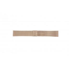 Bracelet de montre Davis B0813 Acier Rosé 22mm