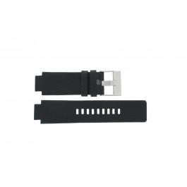 Bracelet de montre Diesel DZ1089 / DZ1186 / DZ1091 Cuir Noir 18mm