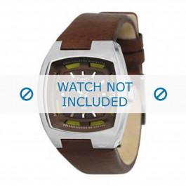 Bracelet de montre Diesel DZ1101 Cuir Brun 14mm