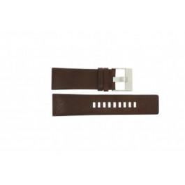 Diesel bracelet de montre DZ1118 Cuir Brun 26mm