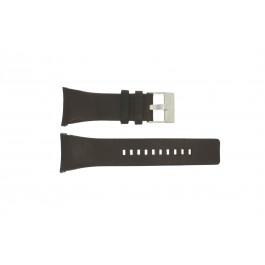 Bracelet de montre Diesel DZ1156 Cuir Noir 30mm