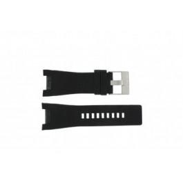 Bracelet de montre Diesel DZ1215 Cuir Noir 31mm
