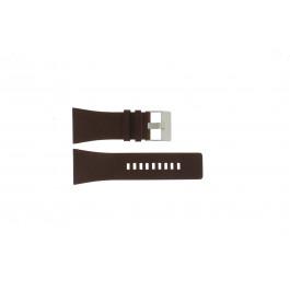 Bracelet de montre Diesel DZ1254 Cuir Brun 34mm