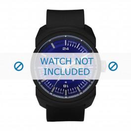 Diesel bracelet de montre DZ1407 Silicone Noir 26mm